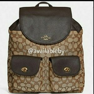 COACH Backpack in Signature Jacquard